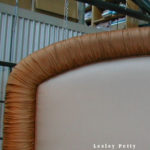 Rolled and Gathered Headboard
