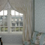 Drapes with Italian Stringing