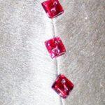Pillow - Glass Button Detail