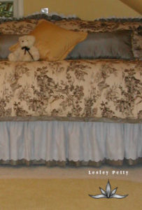 Double Gathered Bedskirt