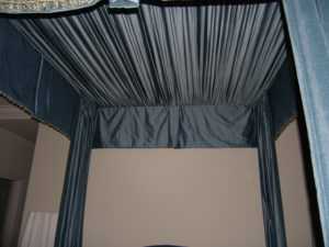 Shirred Canopy