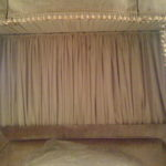 Gathered Bed Drape